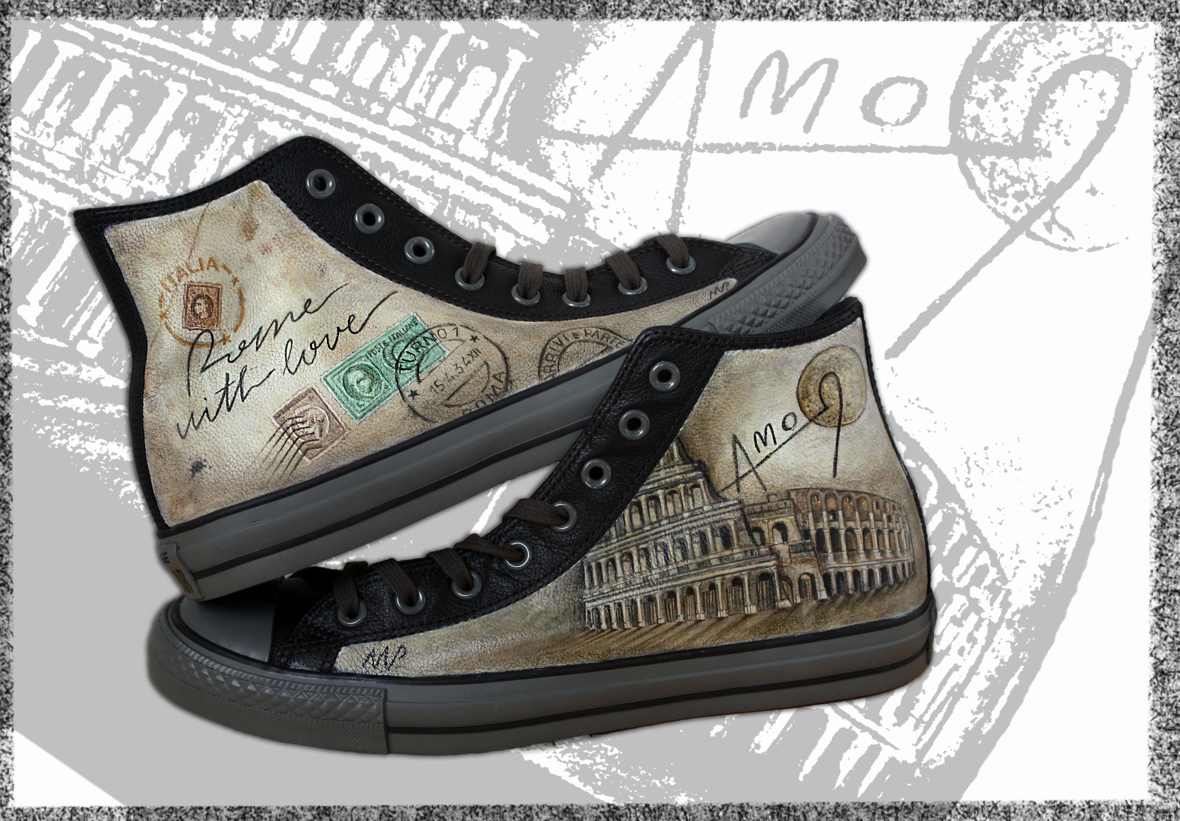 scarpe in pelle personalizzate