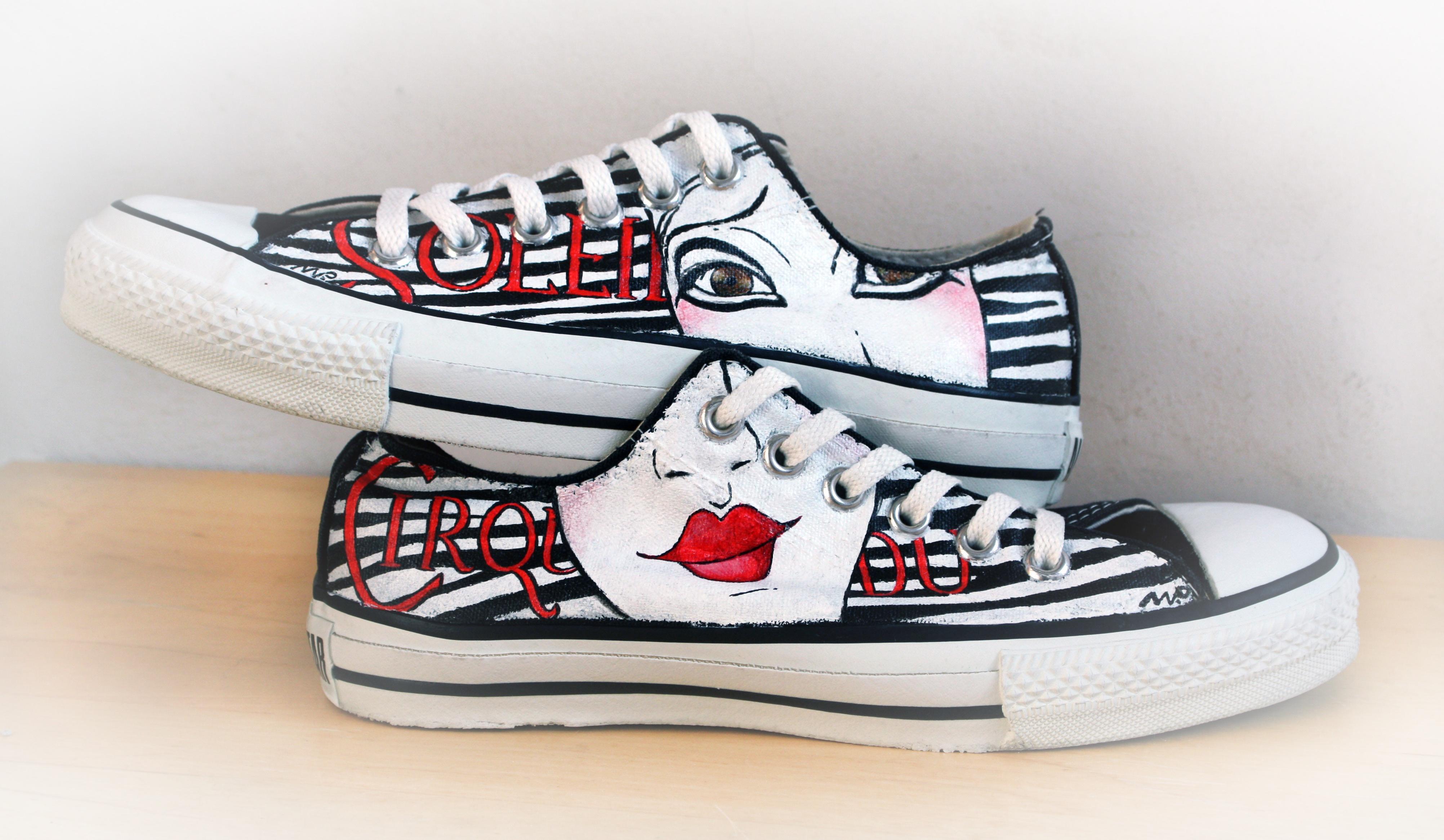scarpe personalizzate basse