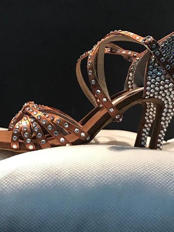 scarpa gioiello con strass