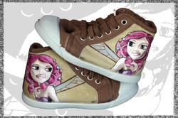 scarpe da bambina personalizzate