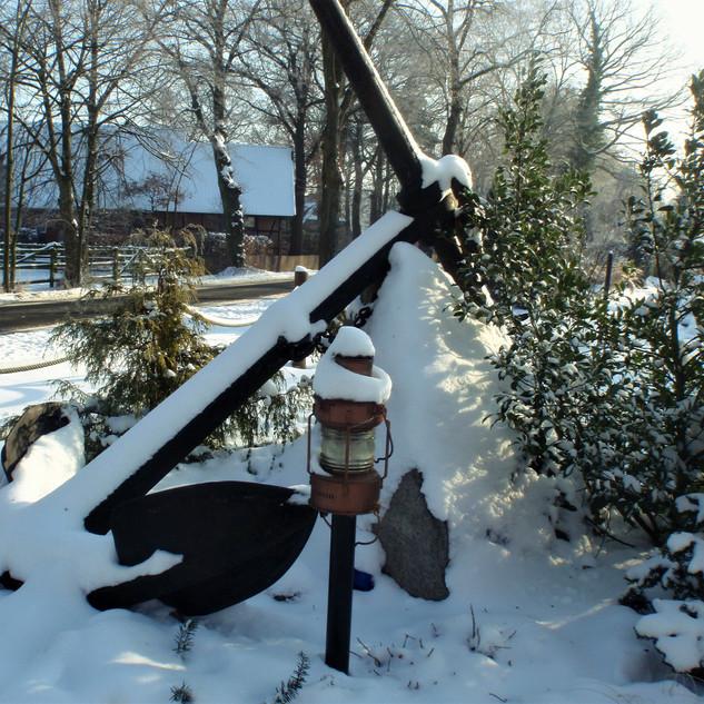 Winterzeit am Anker