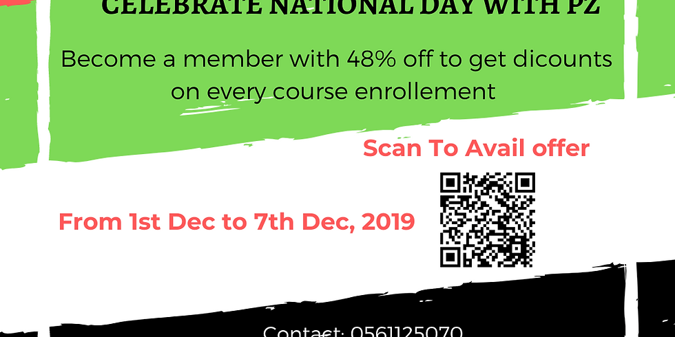 UAE NATIONAL DAY DISCOUNT