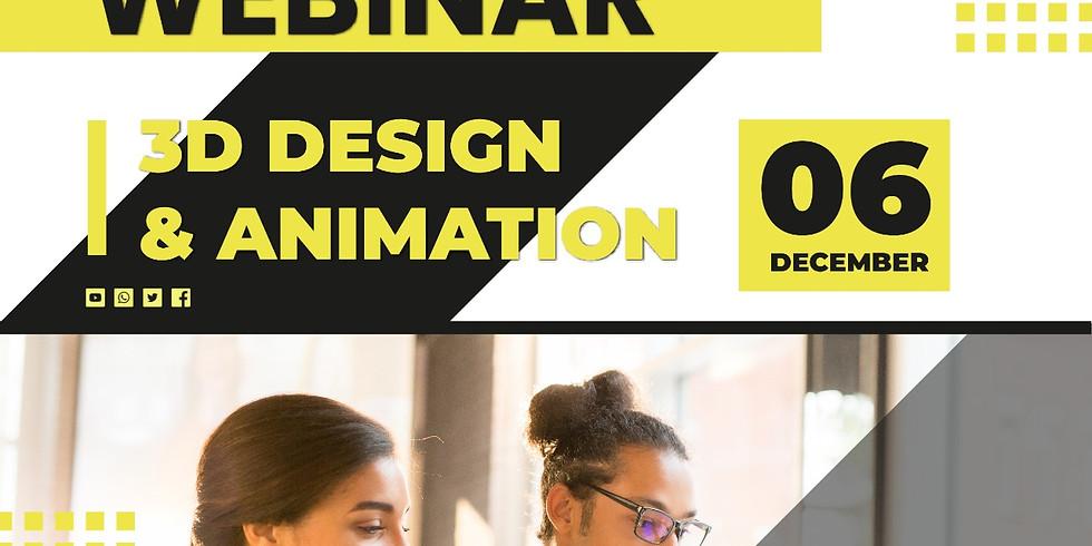 3D Designing & Animation Free Webinar