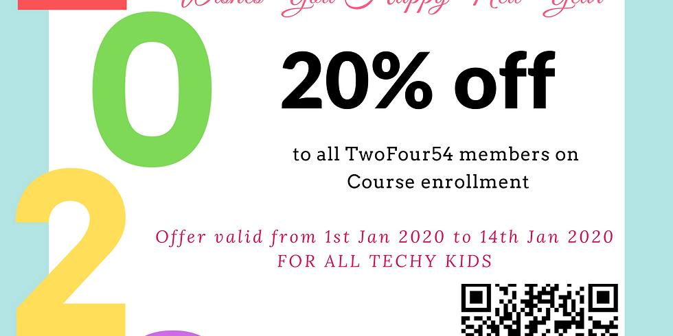 New Year Offer for TwoFour54 Members Only