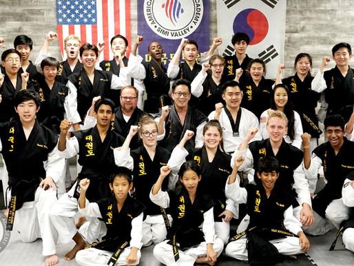 Taekwondo jung-shin