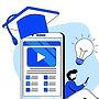 digital-education-platform-flat-design-c