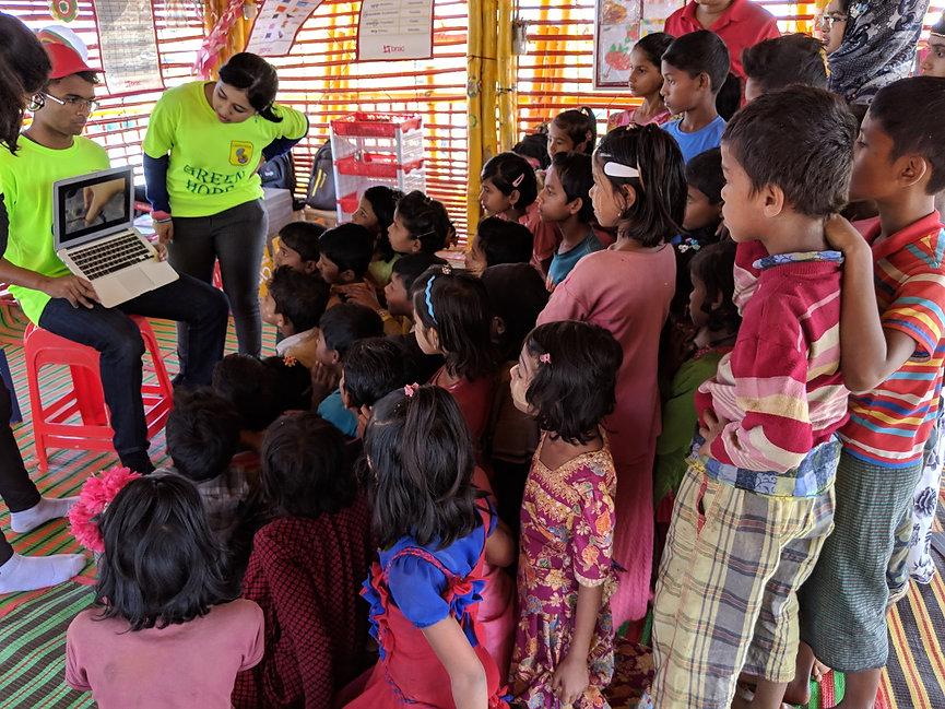 Kehkashan- Basu-Engaging-Rohingya-refuge