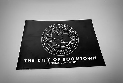 The City of Boomtown book