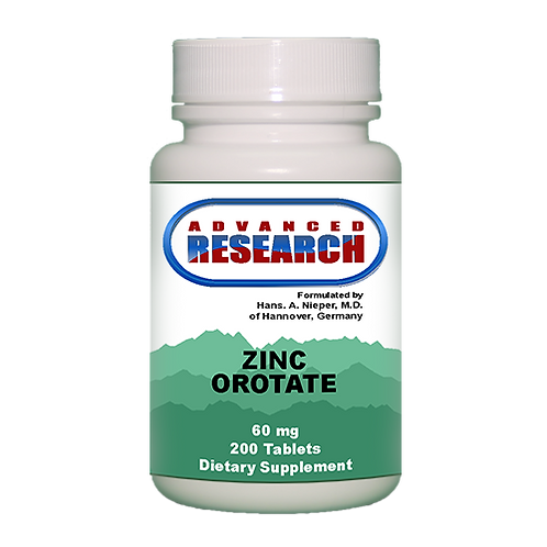 Zinc Orotate 60 mg | 200 tablets