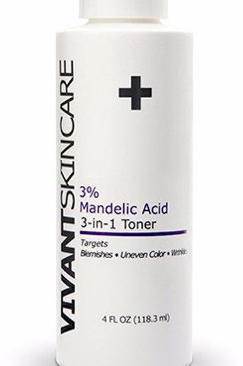 3%  Mandelic Acid 3-in-1 Toner 4 fl oz