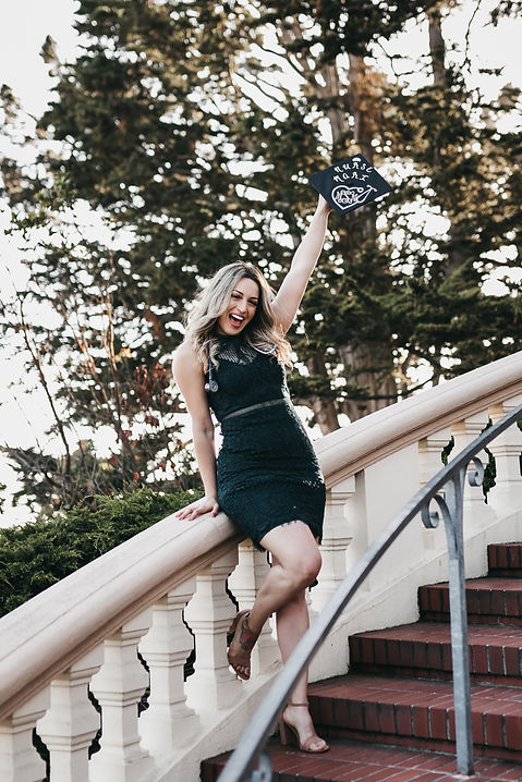 san francisco graduate portrait session