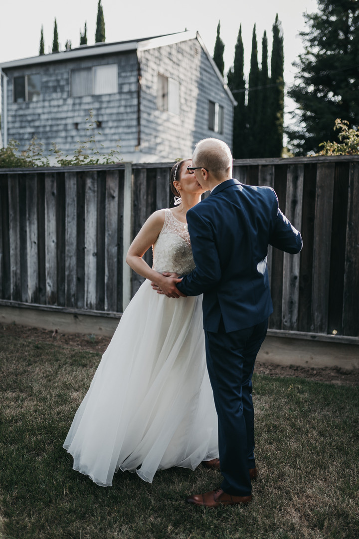 """""""Hiring Brittani was the best decision for our wedding and I truly believe she has an eye and talent for photography BEYOND a traditional wedding photographer. I highly highly highly recommend her and cannot say enough good things about her!!! She truly is fantastic, both personally and professionally!""""  - Rebecca + Paul"""