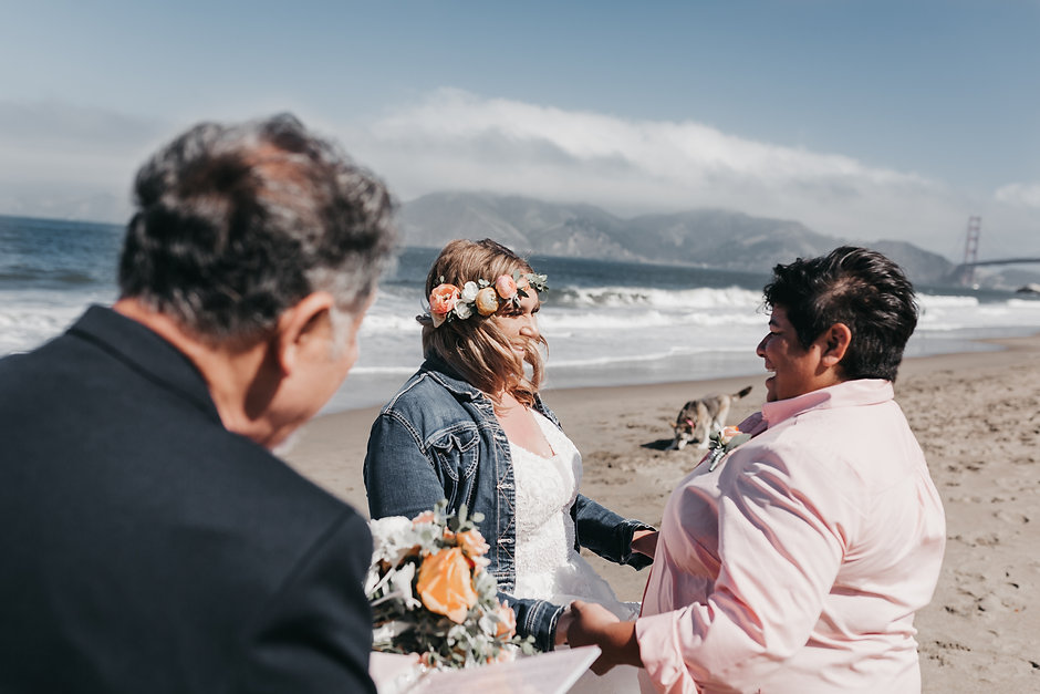 baker beach brides