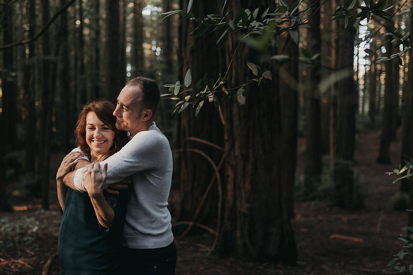 redwood regional park engagement photography