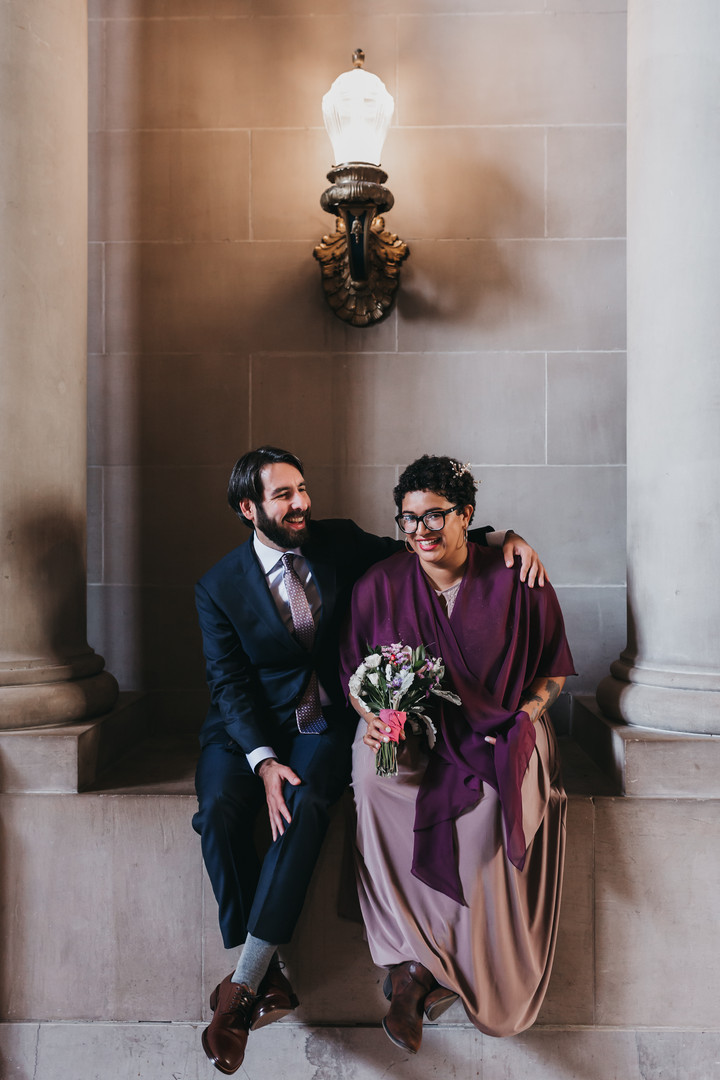 """""""She instantly felt like an old friend, someone we could relax around, and feel free to be ourselves with. She has an encouraging, upbeat, energy and is a highly skilled photographer! She found awesome spots to take amazing pictures and captured the emotion of the day PERFECTLY. For such an important job, she exceeded our expectations.""""  - Tanya + Gabe"""