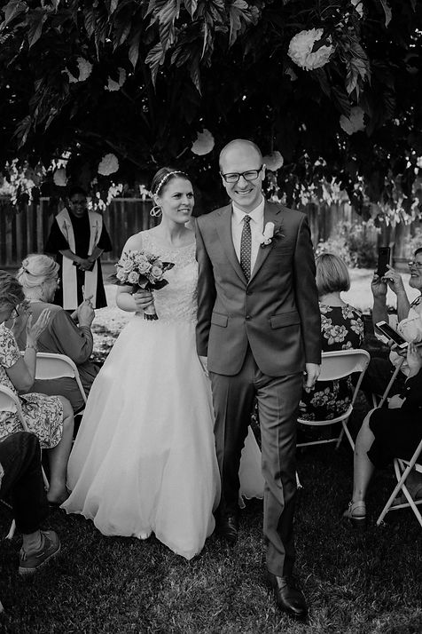 san jose backyard wedding