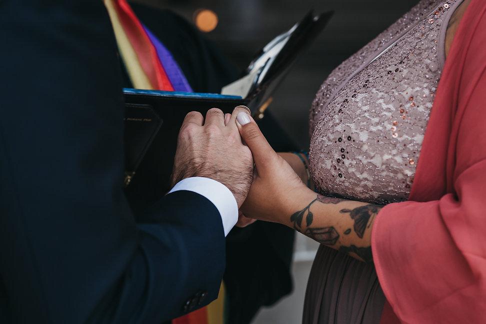 san francisco city hall civil ceremony wedding