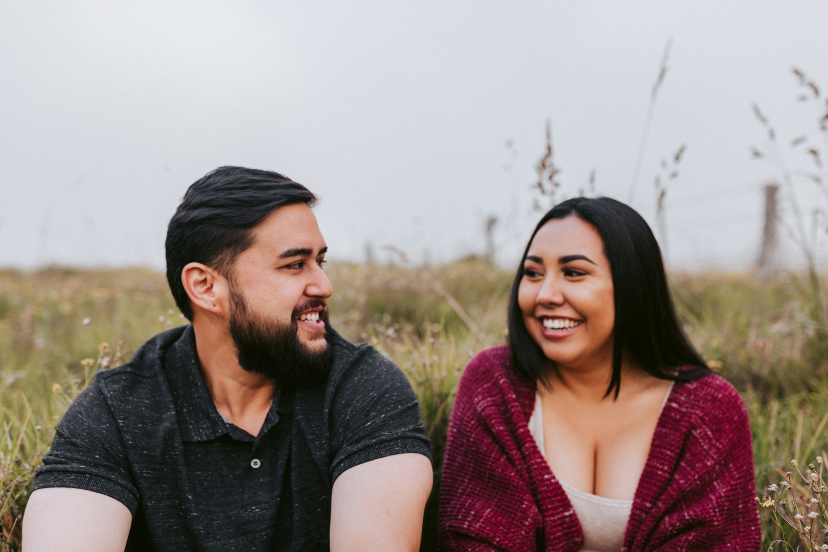 """""""We were not only satisfied with the quality of our photos, we were also very happy with the photoshoot experience itself (it was our first photoshoot). Brittani makes sure to keep her clients comfortable and happy, and it is truly reflected in the photos — especially the candid shots. I'm looking forward to booking a photoshoot with her again soon!!""""  - Chelsea + Coby"""