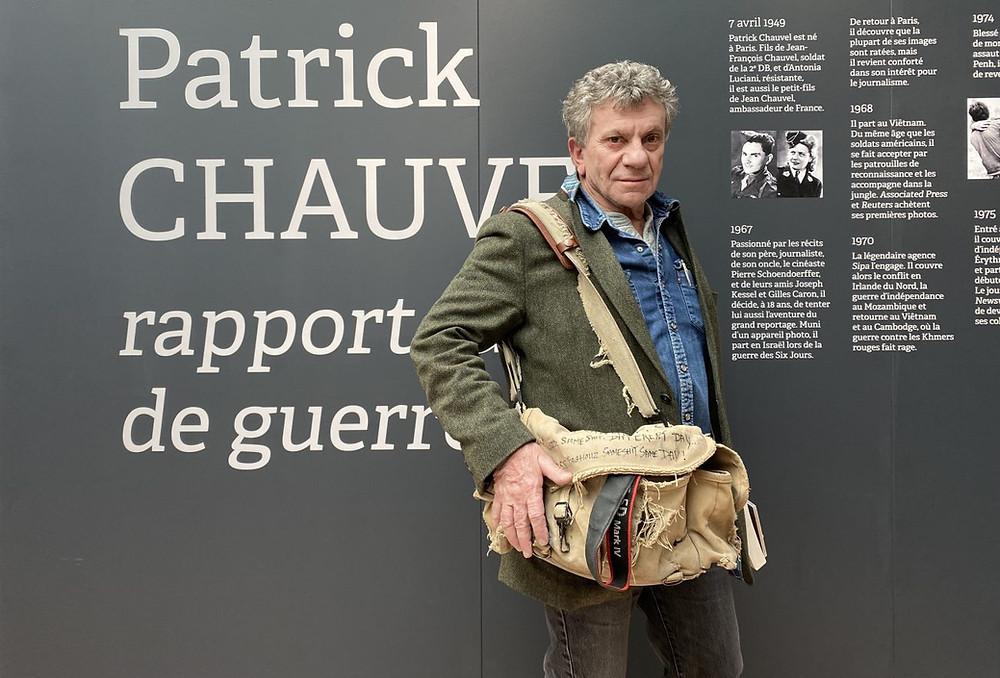 Patrick Chauvet - war reporter