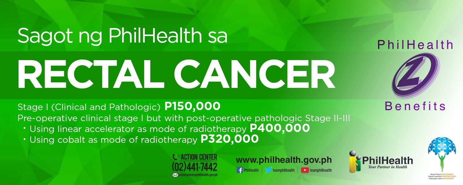 Philhealth - Rectal Cancer Coverage