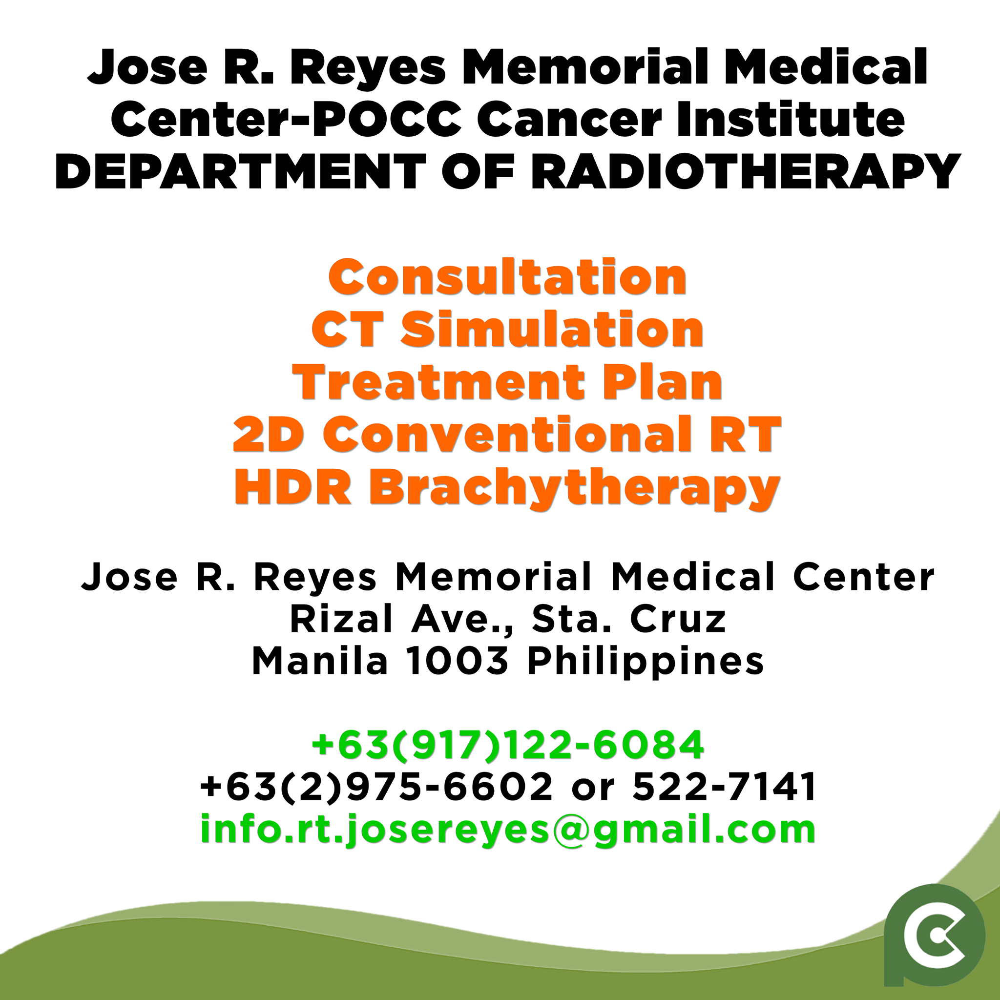 JRRMMC Services