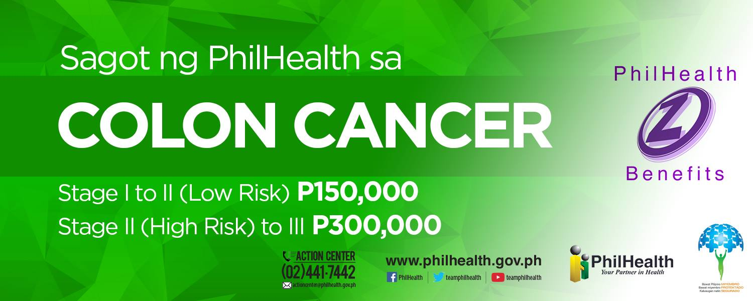 Philhealth - Colon Cancer Coverage