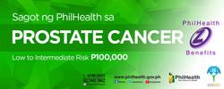 Philhealth- Prostate Cancer Coverage