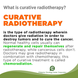 What is Curative Radiotherapy?