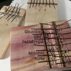 thumbs like raindrops