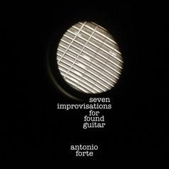 seven improvisations for found guitar
