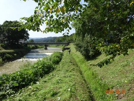 用水路は集落の宝!!村が滅んでも用水路だけは維持したい。