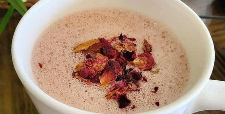 Pine Pollen Rose Moon Milk