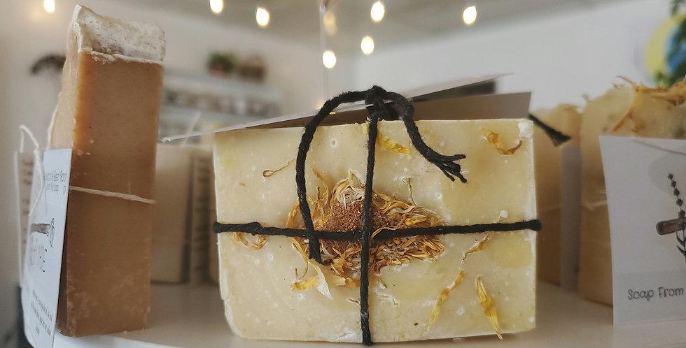 Goatmilk & Calendula Hand Soap Bar