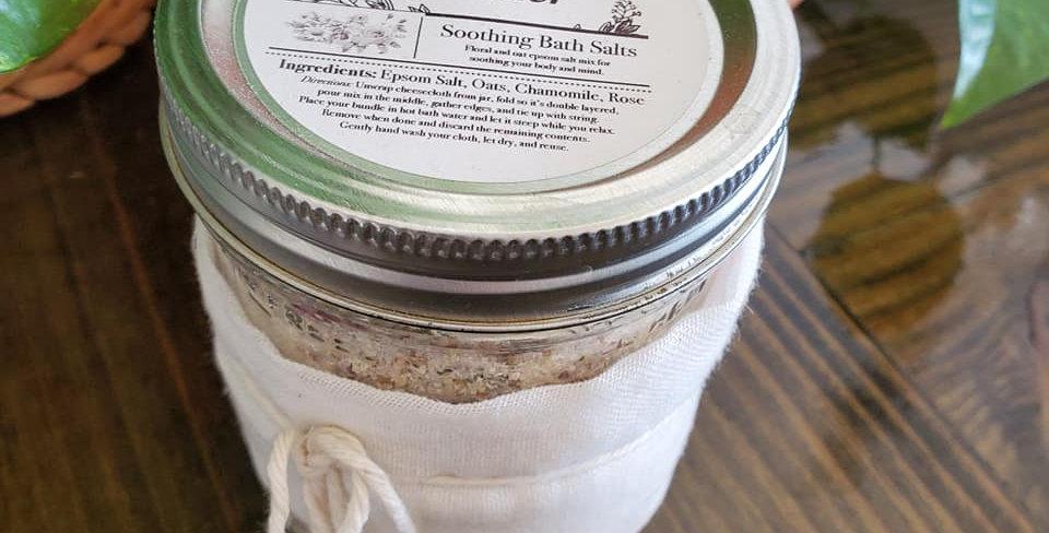 Fox & Fodder Bath Salts