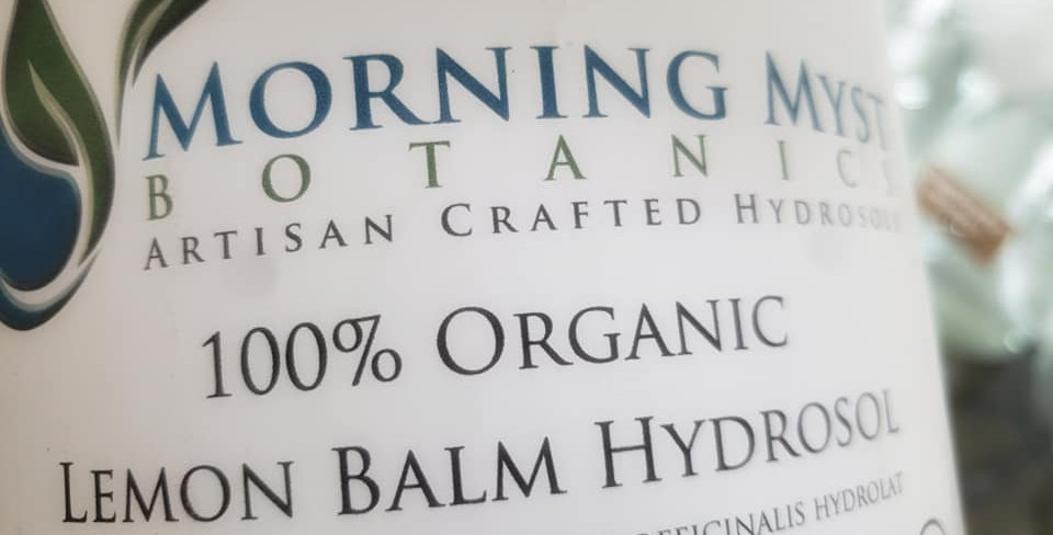 Mountain Myst Lemon Balm Hydrosol 2oz