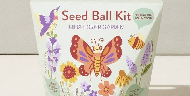 Seed Ball Kit - Wildflower Garden