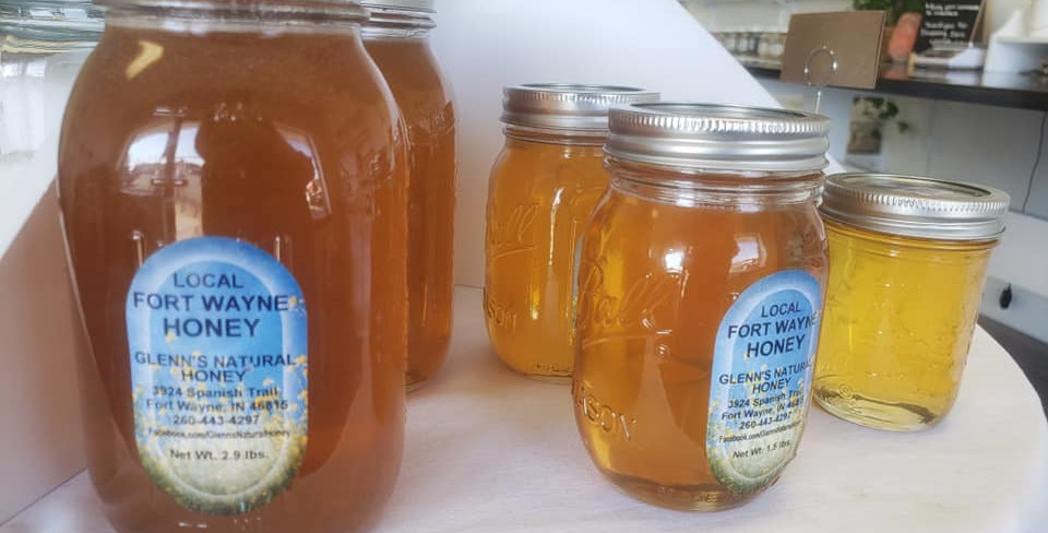 Local Raw Honey-Quart jar