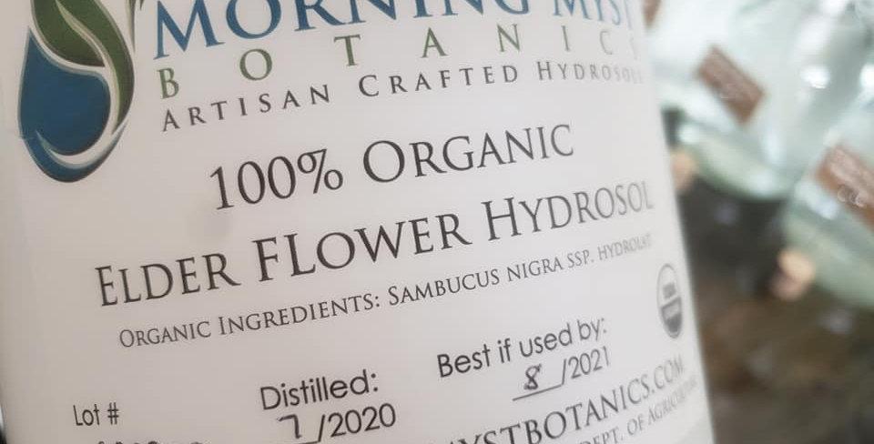 Mountain Myst Elderflower Hydrsol 2oz
