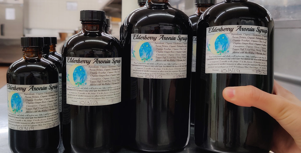 Elderberry Aronia Syrup 32oz