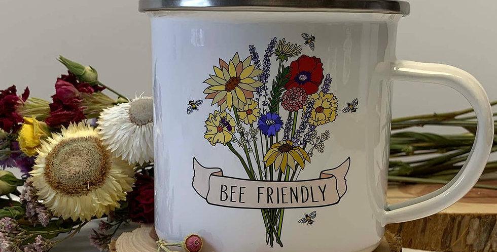 Bee Friendly Wildflower Cup