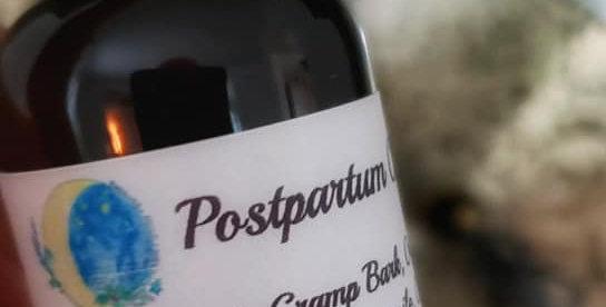 Postpartum Calm Tincture