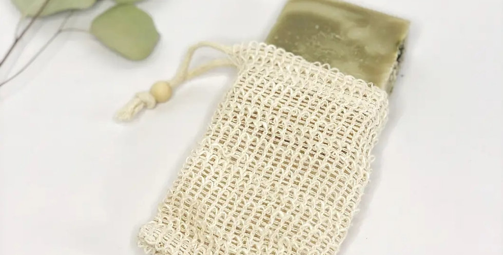 Sisal Soap Saver Pouch- Natural & Biodegradable