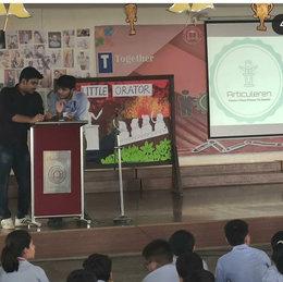 Workshop at Indirapuram Public School
