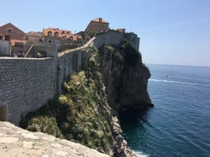 Dubrovnick-the WALL & Lukrom Island