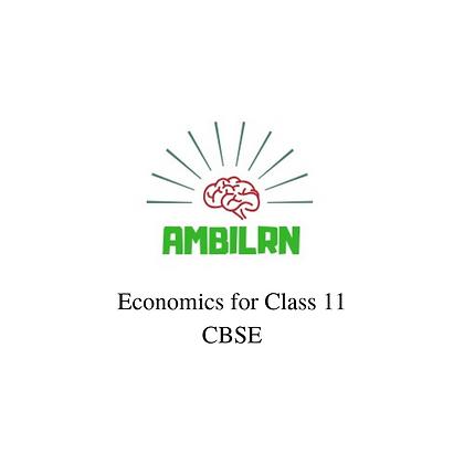 Economics for class 11