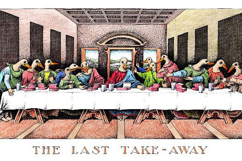 Greeting Card -The Last Take-Away