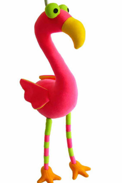 Bouncy Toy - Flamingo