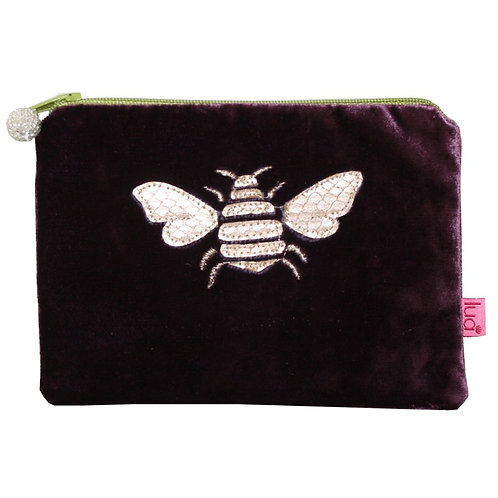 Bee  Purse -Plum