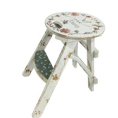Step Stool - Country Design