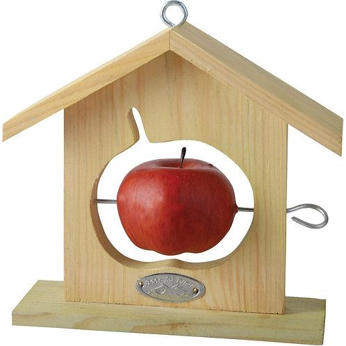 Wooden Hanging Bird Feeders for Apples